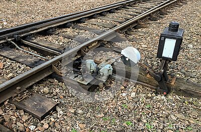 Hand-operated Railroad Switch Free Public Domain Cc0 Image