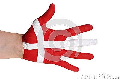 A danish hand