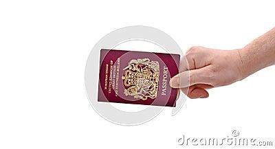 Hand & Passport