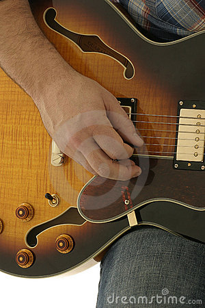 Free Hand Playing Guitar Royalty Free Stock Images - 347669