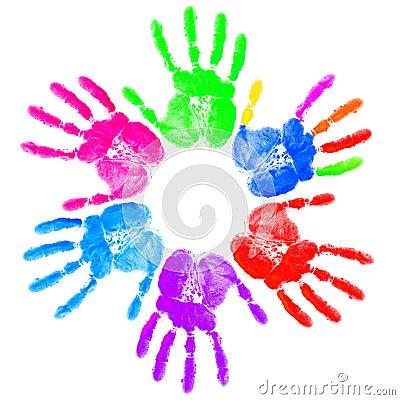 Hand print