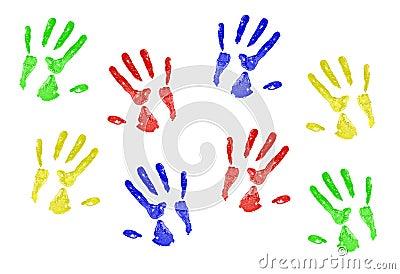 Hand Prints