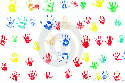 Hand prints diversity