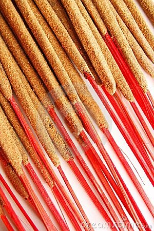 Free Hand-rolled Indian Incense Stock Image - 526871
