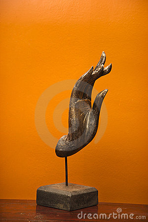 Free Hand Sculpture. Royalty Free Stock Photo - 3532855