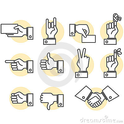 Free Hand Signs Royalty Free Stock Image - 5177286
