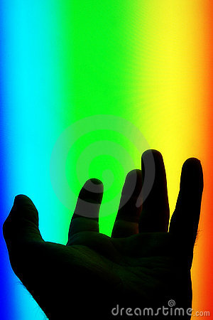 Hand in the spectrum