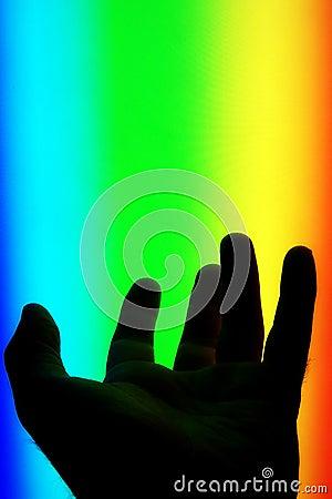 Hand in the spectrum