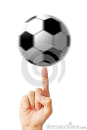 Hand spin ball