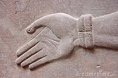 Hand in Stone