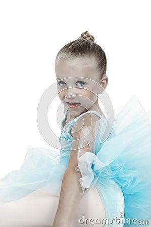 Hand Tinted Ballerina