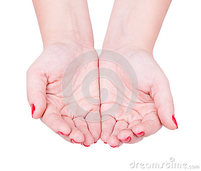 Hand to give