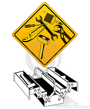 Hand tool, sign