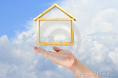 Hand touch home model