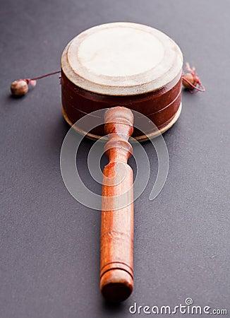 Hand toy drum