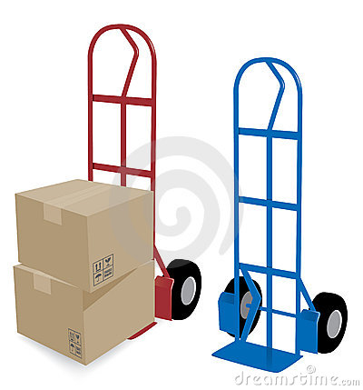 Hand Truck Delivery