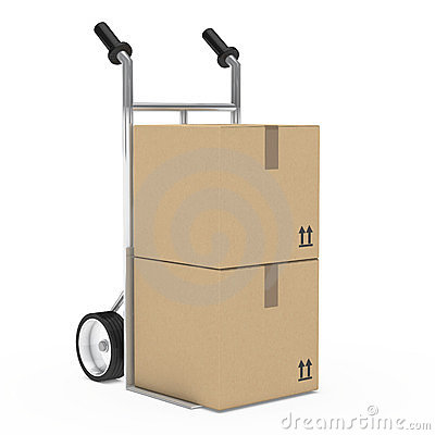 Hand truck package