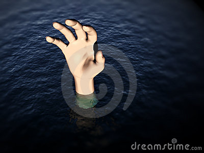 Hand In Water 3