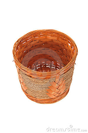 Hand Weave Wicker Basket