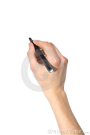 Free Hand With Pen Royalty Free Stock Photography - 7514707