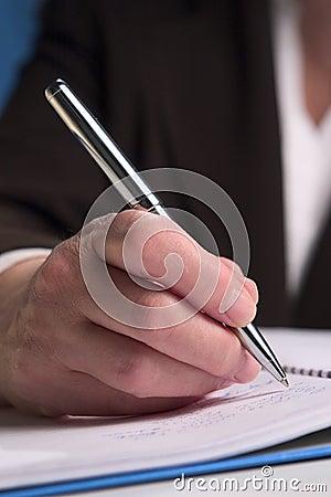 Hand writing 7