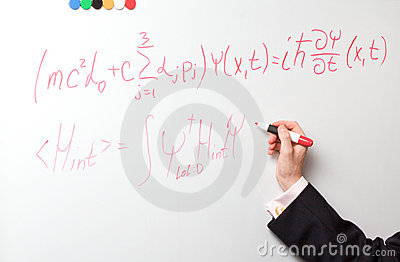 Hand writing formulas