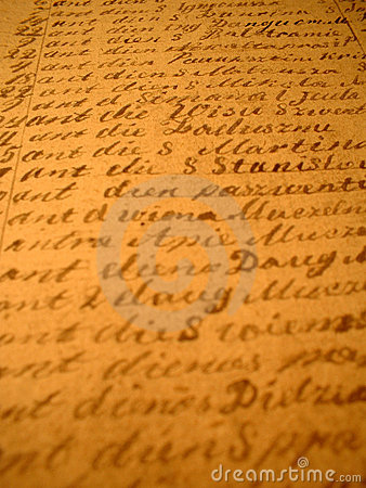 Hand-written II