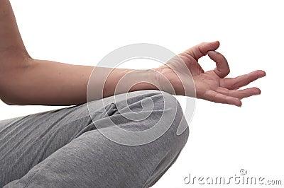 Hand yoga