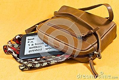 Handbag and ebook