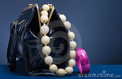 Handbag and jewelry