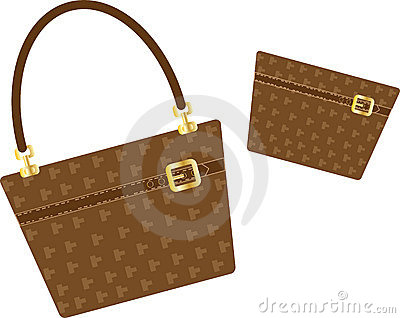 Handbag and purse
