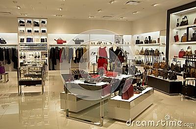 Handbag purse store Editorial Stock Image