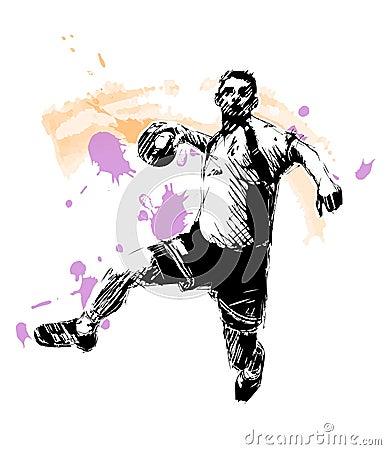 Handball sketching