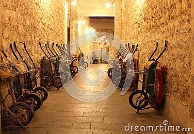 Handcarts in Souq Waqif, Doha
