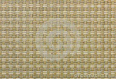 Handcraft trzcinowego weave