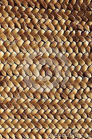 Handcraft weave texture natural vegetal fiber