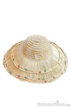 Handcraft woven hat