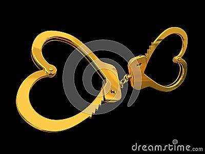 Handcuffs-heart