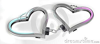 Handcuffs of love.