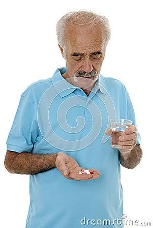 Handful of medicine