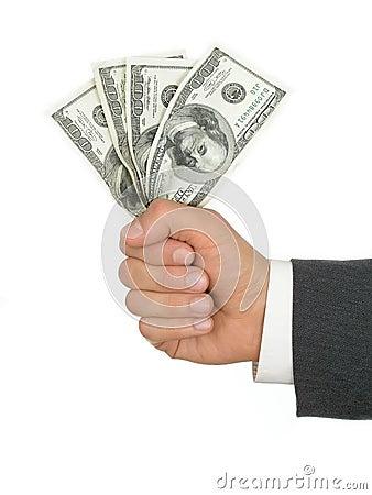 Free Handful Of Money Stock Photography - 212382