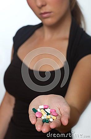 Handfull of pills