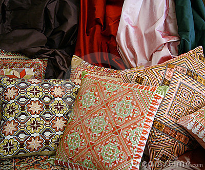 Handgemachte persische Kissen