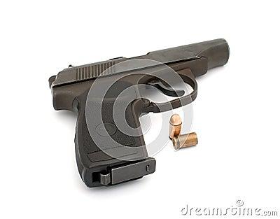 Handgun.