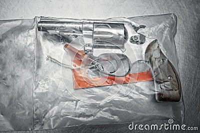 Handgun 38 special revolver