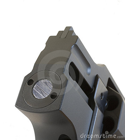 Free Handgun Barrel Royalty Free Stock Photography - 19767877