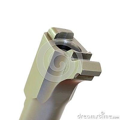 Handgun chamber