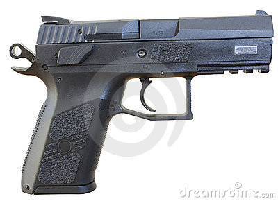 Handgun chambered for 9x19