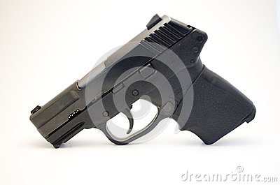 Handgun with grip