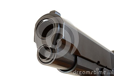 Barrel of a handgun